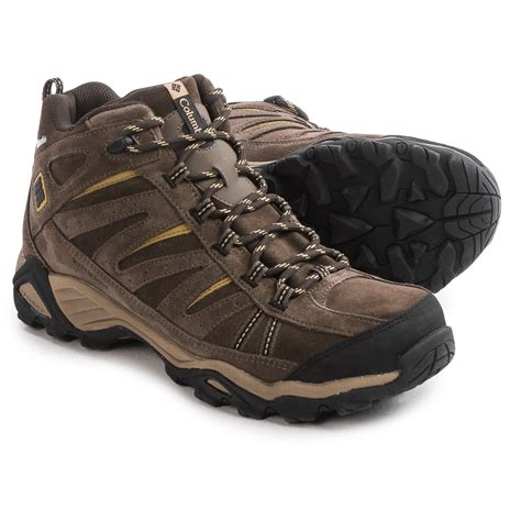 columbia boots columbia sportswear plains mid leather hiking boots