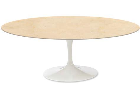 Beige Coffee Table by Saarinen Coffee Table Empire Beige Marble Hivemodern