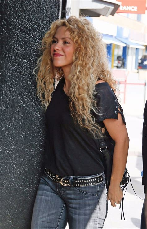 shakira 2017 sexy shakira out and about in barcelona 09 27 2017 hawtcelebs