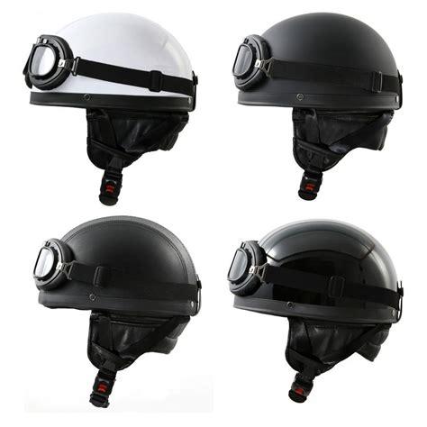 Motorradhelm Ddr by Retro Oldtimer Motorradhelm Brille Motorrad Helm F 252 R Ddr