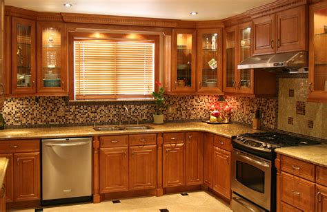 honey kitchen cabinets hickory cabinets with granite countertops dark brown hairs