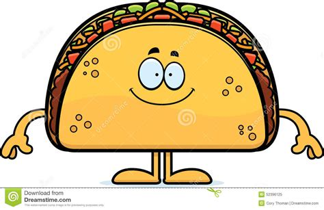 imagenes kawaii de tacos happy cartoon taco stock vector image 52396125