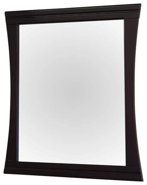 Wood Frame Mirror For Bathroom Wood Frame Mirror 32 Quot Contemporary Bathroom Mirrors By Corbel Universe