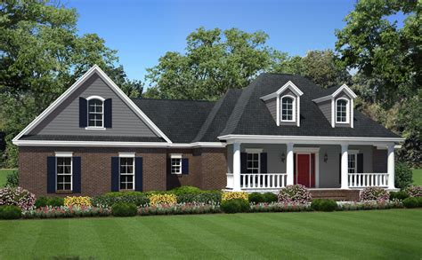 country ranch house plan right view country ranch house