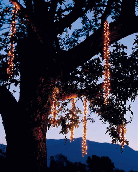 outdoor lighting icicles martha stewart