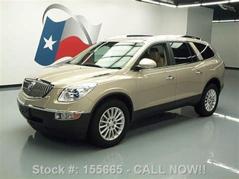 sell used 2012 buick enclave 7 passenger htd leather rear