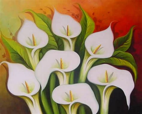 cuadros al oleo de flores modernos cuadros modernos pinturas y dibujos bodegones de flores