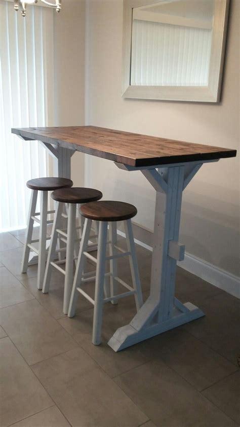 bar height farmhouse table farmhouse style bar height table diy bar