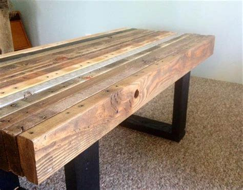 Wood Coffee Table Diy Diy Wood Pallet Coffee Table Woodworking Projects