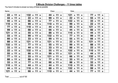 division testi 52 100 question multiplication and division challenges by