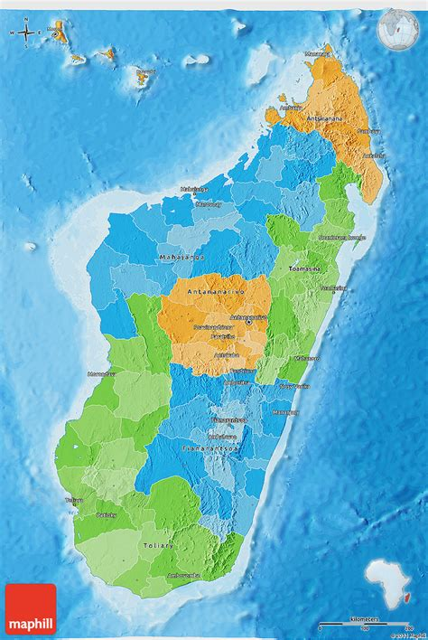 world map of madagascar political 3d map of madagascar political shades outside
