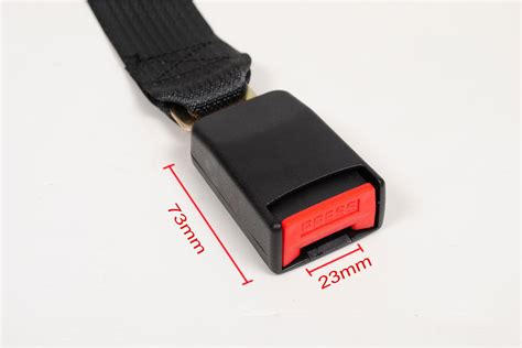 2 x 14 car seat belt seatbelt extension extender universal