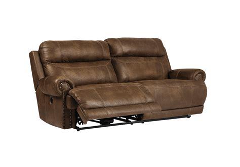 recliner overstock austere brown power reclining sofa lexington overstock