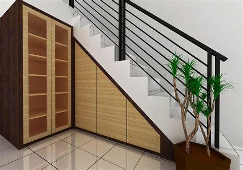 Lemari Meja Kerja Bawah Tangga jasa jual lemari bawah tangga as bt01 surabaya sidoarjo