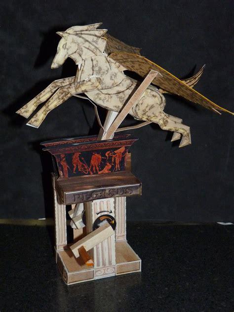 Automata Papercraft - papercraft automata pegasus by zandere123 on deviantart