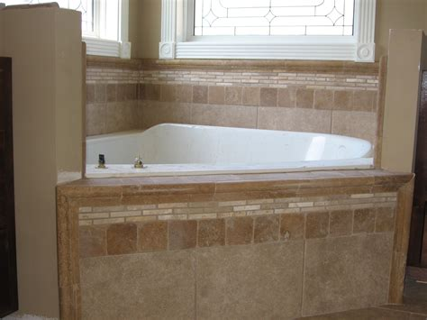 corner tub bathroom designs drop in bathtub tile ideas with drop in tub corner