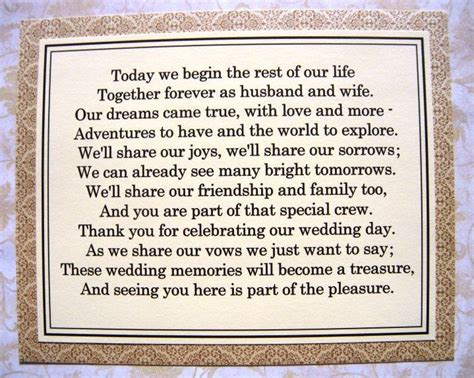 Wedding Attire Poem by Wedding Cookie Table Poem Are Your Own