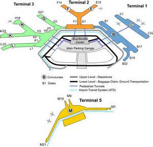 Chicago Ohare Gate Map by Airport Terminal Map Ohare Airport Gate Map Jpg