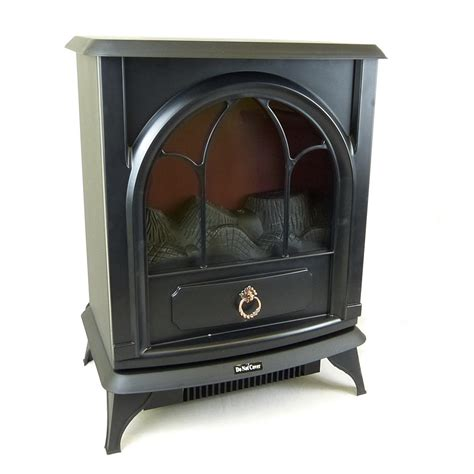 Electric Wood Heater New Portable Electric Wood Burner Style Stove 2000w