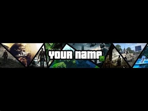 youtube gaming banner template best business template