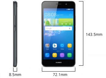 Huawei Y6 8 Gb Putih by Huawei Y6 Hp Android Lollipop Layar 5 Inchi Ram 2 Gb