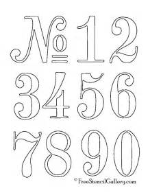 Number Stencil Templates Free 25 best ideas about number stencils on number
