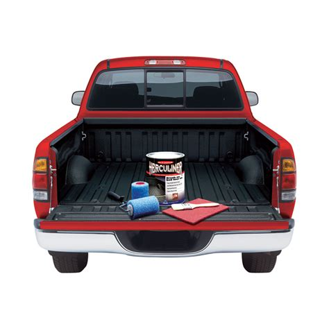 Herculiner Bed Liner by Herculiner Bed Liner Kit Black Truck Bed Liners Mats