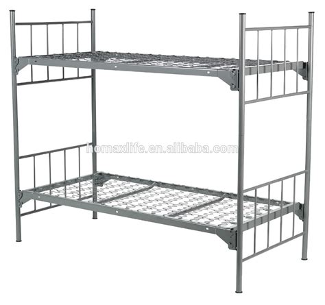 military bed oem bunk bed for adult stackable bed military metal bunk