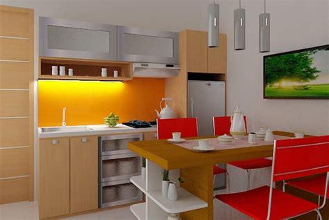 desain dapur kecil cantik desain dapur mungil dan kecil minimalis dengan furniture