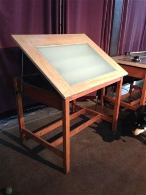 Backlit Drafting Table 33 Best Images About Drafting Tables On Pinterest Oak Show Rooms And Tables