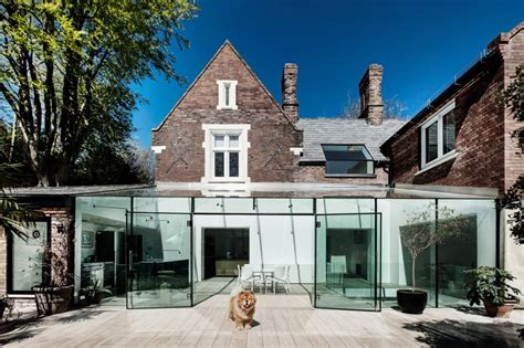 modern traditional homes delightful traditional house with modern glass extension