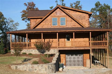 log cabin home with wrap around porch big log cabin homes rustic cabin plans for enjoying your weekends away from