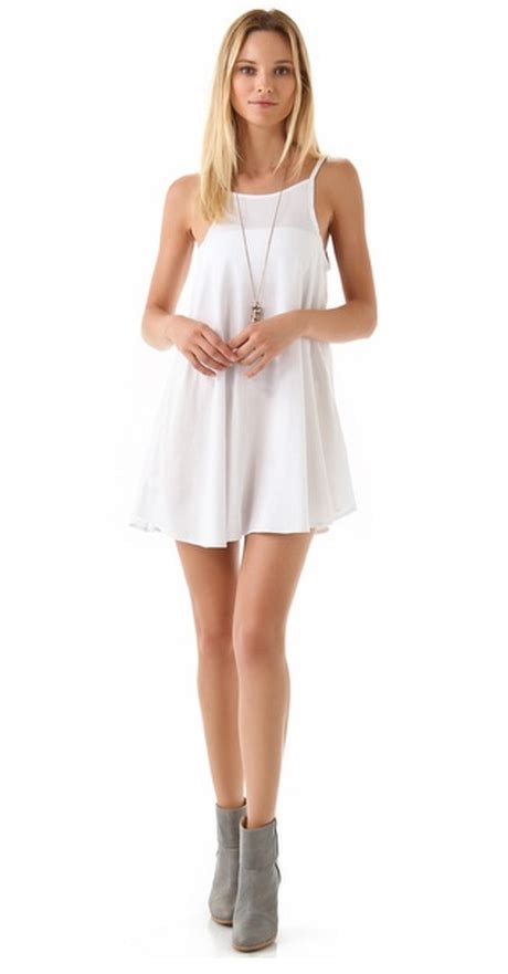 White Tank Dress by White Tank Dress