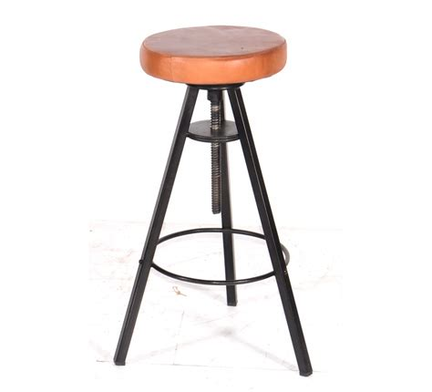 Assise Tabouret Bar by Tabouret De Bar Pin Massif Fer 6951