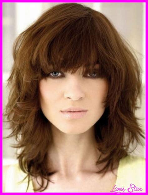 how to cut my hair choppy mid length shoulder length choppy hair livesstar com