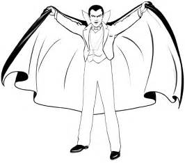 halloween coloring pages dracula coloring pages