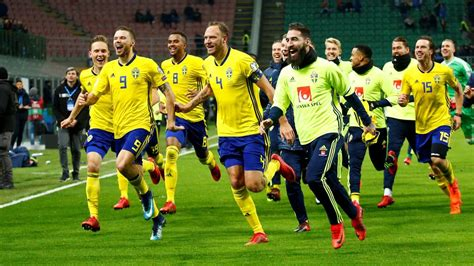 miraklet i sverige klart f 246 r fotbolls vm sport