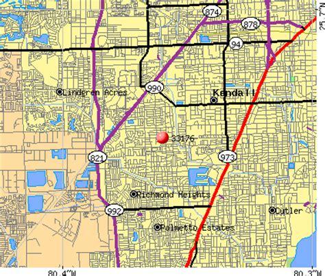 Zip Code Map Kendall Florida | 33176 zip code kendall florida profile homes