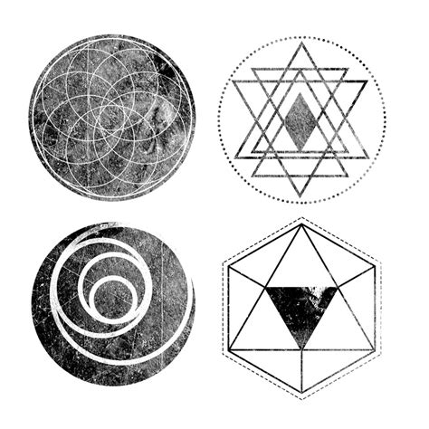 tutorial geometric design how to create textured geometric objects in adobe photoshop