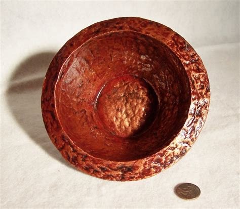 Paper Pulp Crafts - made bowl made with recycled paper pulp crafts