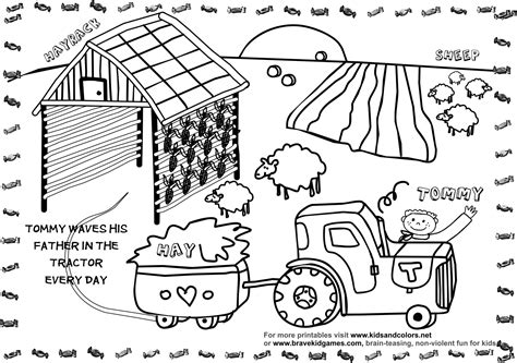 Farm Coloring Pages Free by Free Printable Farm Coloring Pages Coloring Home