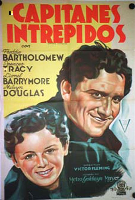 capitanes intrepidos quot capitanes intrepidos quot movie poster quot captains courageous quot movie poster