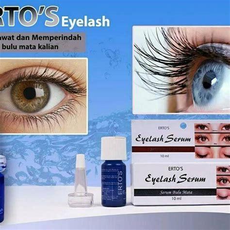 Serum Ertos Shopee ertos eyelash serum bulu mata alis original shopee
