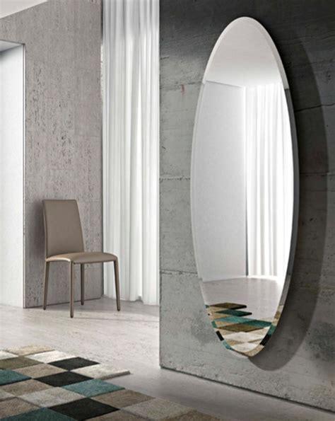 dizain bagno specchio ovale a parete ionico by riflessi design riflessi