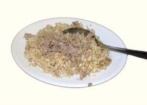 risotto alla salamella mantovana risotto con salamella trattoria donatelli