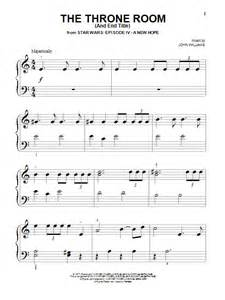 Room Score The Throne Room And End Title Sheet By