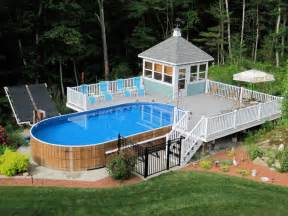 gallery for gt above ground swimming pools cost