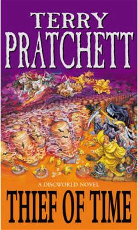 discworld novel 26 books thief of time discworld novel 26 terry pratchett