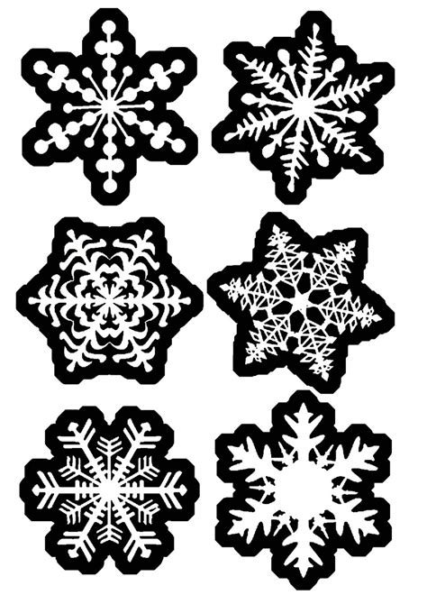 printable ornament tags printable snowflake new calendar template site