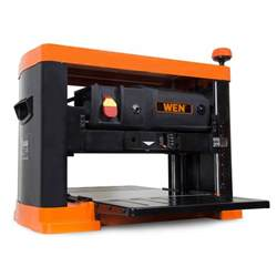 wen 15 13 in 3 blade benchtop corded thickness planer